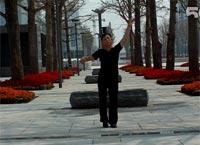 花卉园美美广场舞 我和草原有个约定