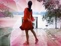 四川泸县福集彩虹健身队 女人花 背面演示 附纯背景音乐mp3下载