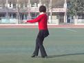 新乡飞燕广场舞 天高云蓝 背面演示及动作分解