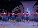 杨艺广场舞 美丽的姑娘花一样 背面演示