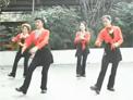 谢春燕广场健身舞 拜新年