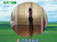 応子广场舞 天那边 附口令分解动作与背面演示