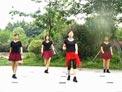 张林冰广场舞 自由自在 正反面i演示和分解动作
