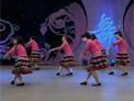 杨艺广场舞 杜鹃(杜鹃那山满坡红) 背面演示 索洁编舞