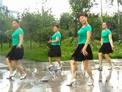 张林冰广场舞 健身舞 借点情借点爱 正背面演示