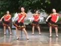 兴梅舞蹈 闯码头 正背面演示和分解教学