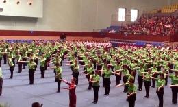江西鄱陽春英廣場舞《我和你》參加九江藝術節
