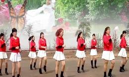 石家庄元氏缘梦广场舞《你是我的新娘》编舞春英 团队演示