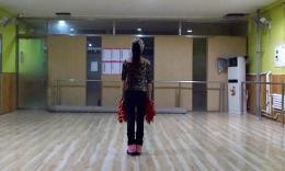 廊坊星月舞蹈队《拜新年》慢动作口令分解教学演示