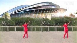 蔻蔻廣場舞《搖擺哥》原創健身舞 正背面演示