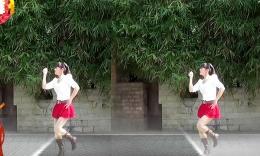 鄂州益馨广场舞《想着你亲爱的》最新原创 正背面教学演示