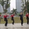 廣西民大廣場舞