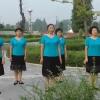陕西西乡踏歌起舞舞蹈