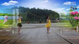 梓萌寶貝廣場舞《向上攀爬》編舞麗雨 正背面演示