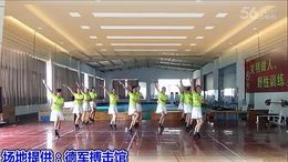 马陵山陵韵舞蹈队《张灯结彩》编舞刘荣 团队演示队形版