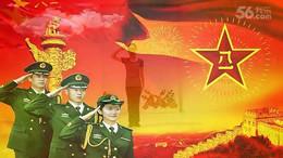 北京艺莞儿舞蹈《军旗下的我们》原创舞蹈 明星团队合屏版