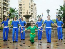 杨丽萍广场舞《真的没骗你》原创舞蹈 腰部运动健身操 附正背面口令分解教学演示