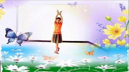 谢春燕广场舞《枯叶蝶》原创舞蹈 附正背面口令分解教学演示