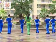楊麗萍廣場舞《因為愛著你》原創步子舞 附正背面口令分解教學演示