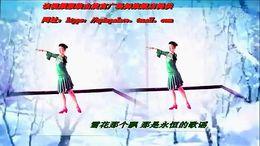 謝春燕廣場舞《又見北風吹》原創中三形體 附正背面口令分解教學演示