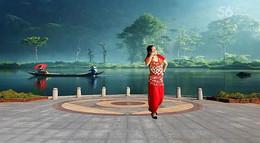 漓江飞舞广场舞《印度舞Dhang khayrang》原创舞蹈 附正背面口令分解教学演示
