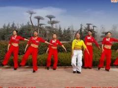 舞动旋律2007健身队《张灯结彩》编舞心随 附正背面口令分解教学演示