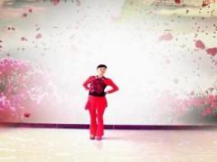谢春燕广场舞《映山红》原创舞蹈 附正背面口令分解教学演示