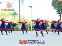 杨丽萍广场舞《我要醉在草原上》原创形体中三舞 附正背面口令分解教学演示