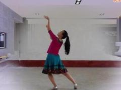 応子广场舞《姐妹花》原创舞蹈 附正背面口令分解教学演示