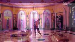 路漫漫广场舞《云在飞》原创舞蹈 正背面演示
