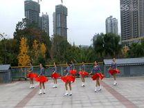 俏木蘭廣場舞《美好時代》原創排舞 團隊正背面演示