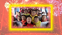 北京加州廣場舞《好兆頭》編舞格格 團隊正背面演示