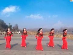 沭河之光广场舞《我在前世约了你》原创舞蹈 附正背面口令分解教学演示