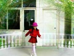 2016冰晶公主广场舞《新年喜洋洋》原创舞蹈 附正背面口令分解教学演示