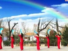 刘荣广场舞《秧歌扭起来》原创舞蹈 附正背面口令分解教学演示
