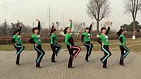 雨柔廣場舞《娜魯灣情歌》原創舞蹈 團隊正背面演示