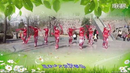 巩义宋陵广场舞《欢天喜地》原创舞蹈 附正背面口令分解教学演示