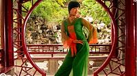谢春燕广场舞《江南雨》原创形体舞 正背面演示