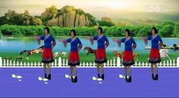 全椒管壩約定廣場舞《馬背情歌》原創舞蹈 正背面演示