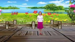 新疆花儿广场舞《好一朵女人花》原创舞蹈 正背面演示