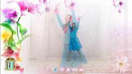 广西灵山曹曹广场舞《好一朵女人花》原创舞蹈 附正背面口令分解教学演示