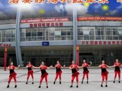 重庆叶子广场舞《映山红》原创舞蹈 附正背面口令分解教学演示