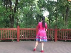応子广场舞《月亮岛之恋》原创舞蹈 附正背面口令分解教学演示