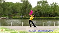 畅春园广场舞《女人花》原创羽扇舞 正背面演示
