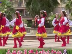 楊麗萍廣場舞《唐古拉風暴》原創藏族圈圈舞 附正背面口令分解教學演示