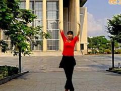 鄂州益馨廣場舞《啞巴新娘》原創步子舞 附正背面口令分解教學演示