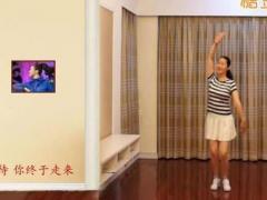 应子广场舞《暖暖的幸福》原创舞蹈 附正背面口令分解教学演示