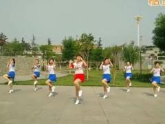 hehe+大众健身队《爱上我的冤家》原创舞蹈 附正背面口令分解教学演示