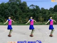 鄂州益馨廣場舞《納西情歌》編舞幽谷百合 附正背面口令分解教學演示