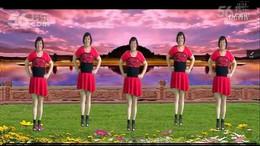 全椒管坝约定广场舞《映山红》原创舞蹈 正背面演示